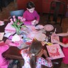 Children's Craft time for Valentine's Day