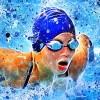 Swimming lane times