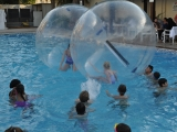 9. Water balls in action