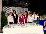 5. Staff members 1992 (including a very young Joby)