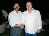 02.  Chris Woodrow (Chairman) with Mohammed Jan 16