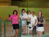 Ladies Tennis players